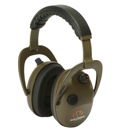 Alpha Power Muff D-Max Green Headphones with Microphone