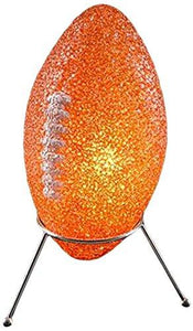 "Rhode Island Novelty Elfoosp 9"" Sparkle Football Lamp"