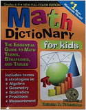 Math Dictionary for Kids: The Essential Guide to Math Terms, Strategies, and Tables