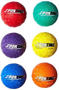 "Sportime 1478718 Smallest Playground Ball Set, 2-1/2"", Assorted Colors (Pack of 6)"