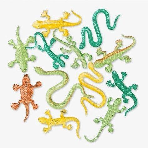 Fun Express Mini Snakes and Lizard Assortment (144 Piece)