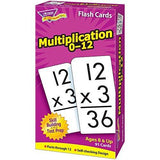 Trend Enterprises Trend Math Flash Cards - Multiplication Flash Cards - Set of 91 Cards (T53105)