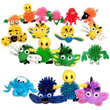 "Rhode Island Novelty 50 Pc 2"" Hedge Ball Character Assortment Toy Activity and Play"