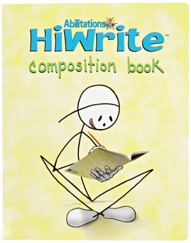 Abilitations Integrations Hi-Write ComposiNoteBook - 9 1/2 x 7 1/2 - 160 Pages (80 Double-Sided)