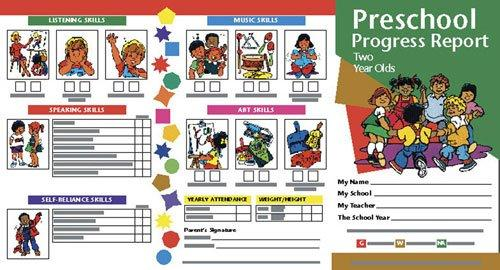 Hayes Progress Report - Ages 2, Pack of 10