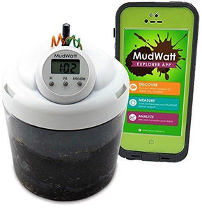 MudWatt - Clean Energy From Mud - Grow Your Own Living Fuel Cell - Classic STEM Kit by MudWatt