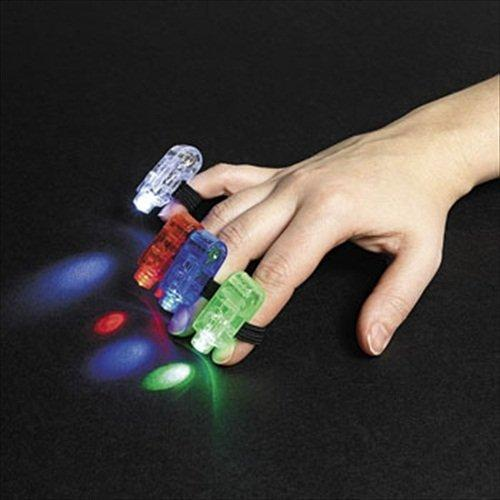 12 Finger Beams - Glow Products & Glow in the Dark