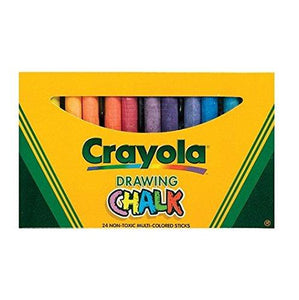 Crayola Drawing Chalk - 24-Pack 2PC