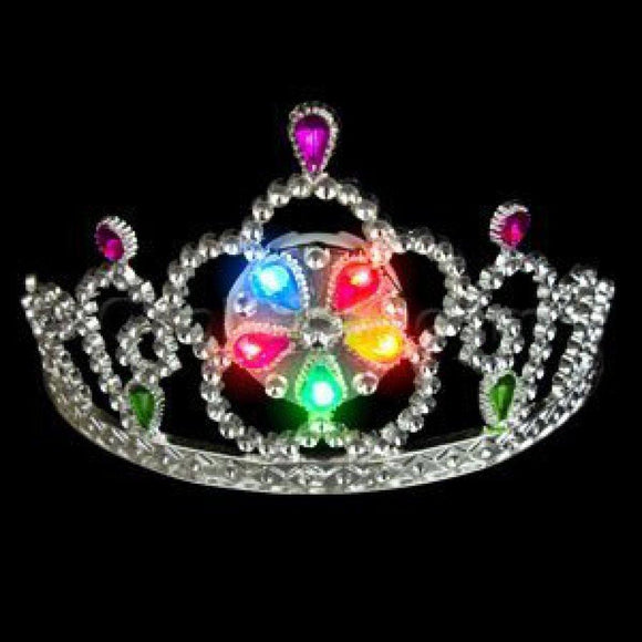 LED Light Up Tiara - Multicolor