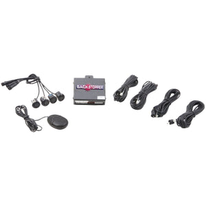 Crimestopper CA-5017.MATT.2 Front Parking Assist with Audible Alert & Matte Sensors