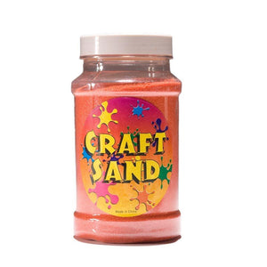 Craft Sand - Orange (1) Party Accessory
