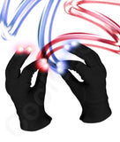 Fun Central C061 LED Light Up Black Magic Gloves