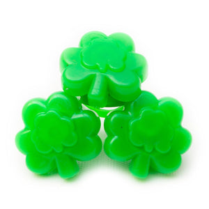 Fun Central G231 LED Light Up Jelly Shamrock Rings