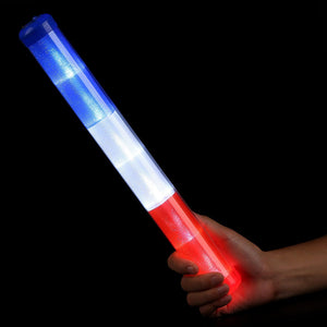 Fun Central AU265 Light Up Baton - Red-White-Blue