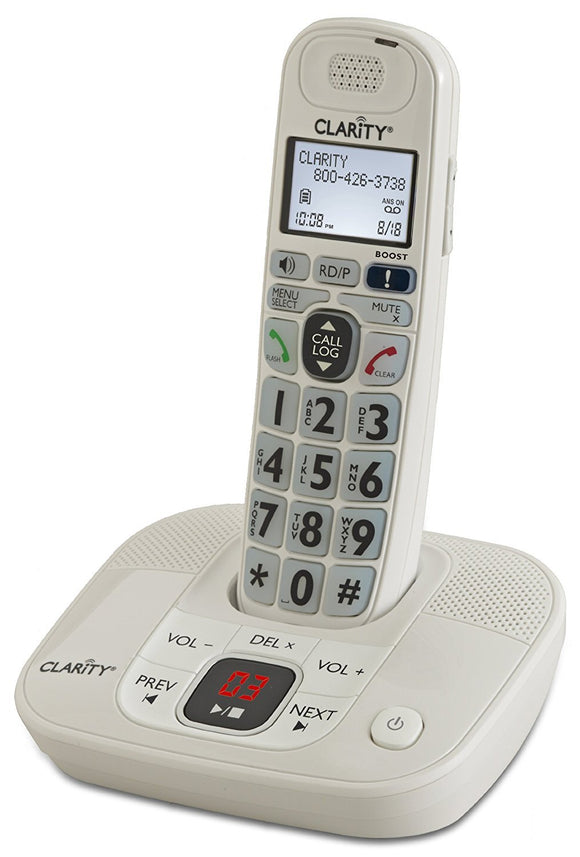 Amplified Cordless Phone with Digital Answering System