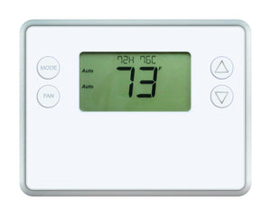 GoControl Thermostat, Z-Wave, Battery-Powered, Works with Amazon Alexa