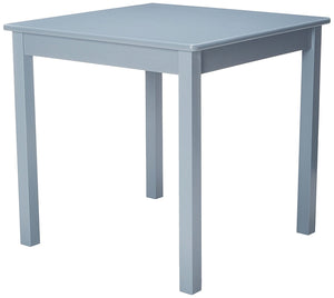 "Lipper International 520G Child's Table for Play or Activity, 23.75"" x 23.75"" Square, 21.66"" Tall, Grey"