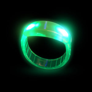 Fun Central I474 LED Light Up Bangle Bracelets - Green