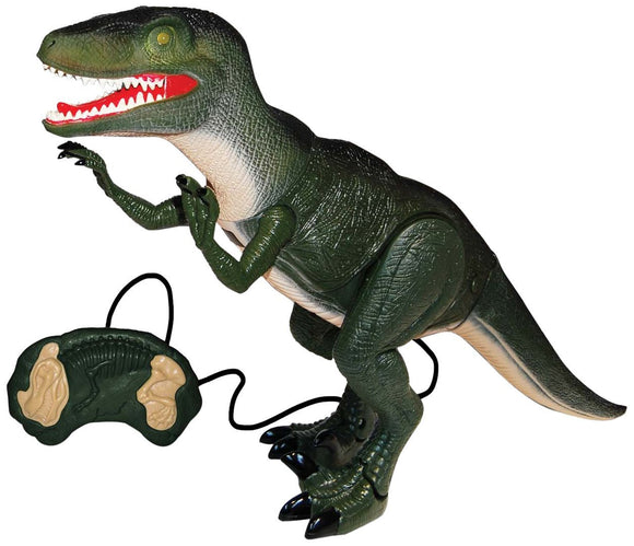 Remote-Control Walking Velociraptor