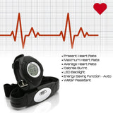 Pyle Sports PHRM38BK Heart Rate Monitor Watch with 3D Walking/Running Sensor