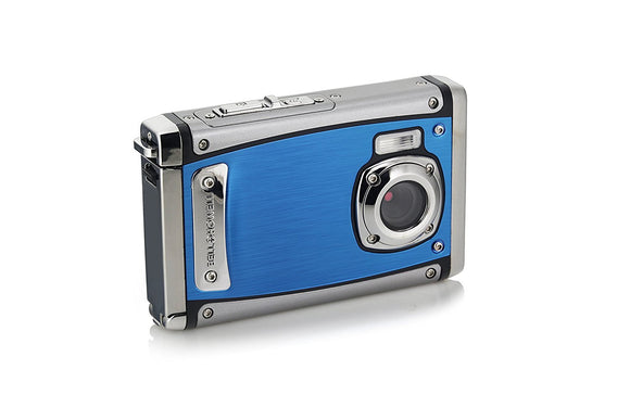 Bell+Howell WP20-BL Splash3 20 Mega Pixels Waterproof Underwater Digital Camera with Full 1080p HD Video, 2.4