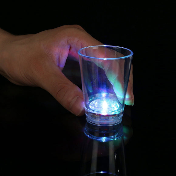 Fun Central AU061 LED 2oz Shot Glass - Multicolor