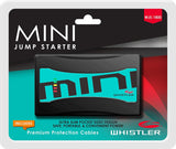 Whistler WJS-1800 MINI Portable Lithium Jump Starter: 160 Starting Amps / 320 Peak Amps