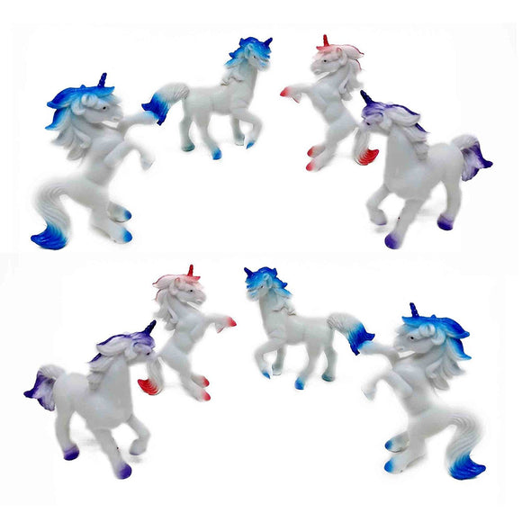Fun Central (AZ921) 3 Inch Unicorns Animals - Assorted 12pcs
