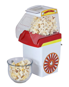Brentwood Classic Popcorn Machine – Popcorn Maker Pops 8 Cups in 3 Minutes – Enjoy Healthy & Gourmet Popcorn at Home - Kernels are 4x Cheaper than Microwavable Bags - Hot Air Popcorn Popper