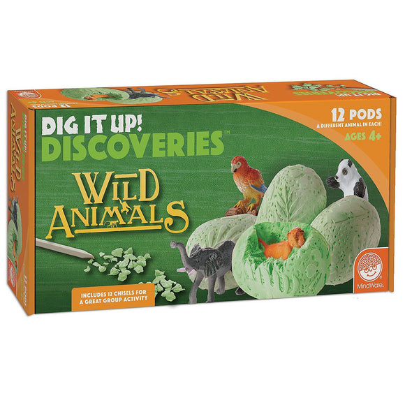 DIG IT UP! DISCOVERIES: WILD ANIMALS