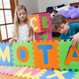 MOTA Alphabet ABC Mat – EVA Foam - Anti-Slip Foam Jigsaw Puzzle Floor Play Mat – 26 Tiles