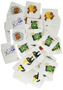 "Halloween Temporary Tattoos (144 pieces) 2""."