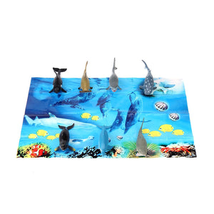 Fun Central (AZ912) 5 Inch Sharks Tub - Assorted 7pcs