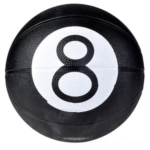Black 8 Ball Design Regulation Size Basketball