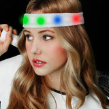 Fun Central AJ296 LED Light Up Sweat Headband - Multicolor