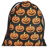 Large Assorted Halloween Drawstring Trick Or Treat Bags (12)