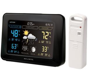 AcuRite Color Weather Station (Dark Theme)