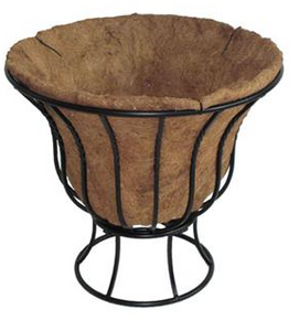 "Blacksmith 14"" Curved Planter"