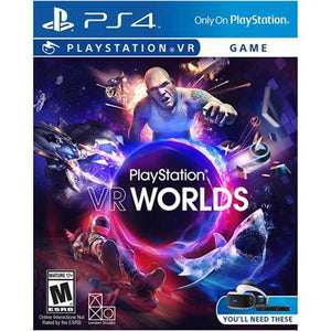 Psvr Vr Worlds Ps4