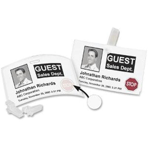 Label Dymo Name Badge 12-hour