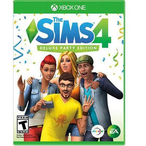 The Sims 4 Deluxe Party Xb1