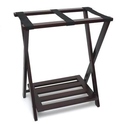 Luggage Wshoe Rack Espresso