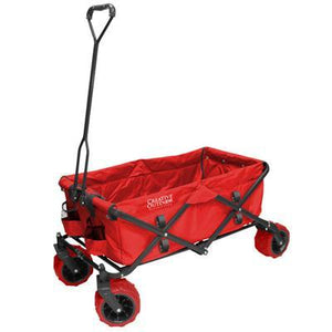 All Terrain Folding Wagon Red