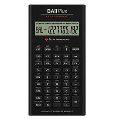 Ti Ba II Plus Pro Calculator