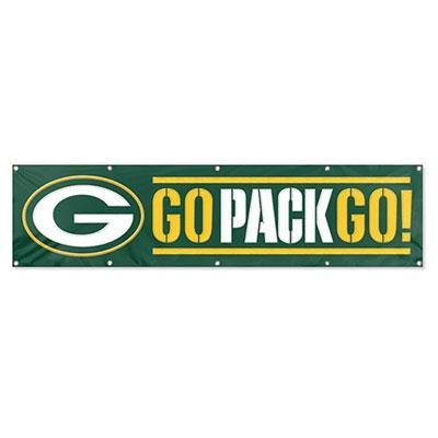 Packers 8ft X 2ft Banner