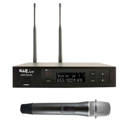 Uhf Wireless Cardioid Mic Sys