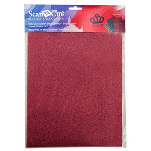 Scanncut Ironon Glitter Bright
