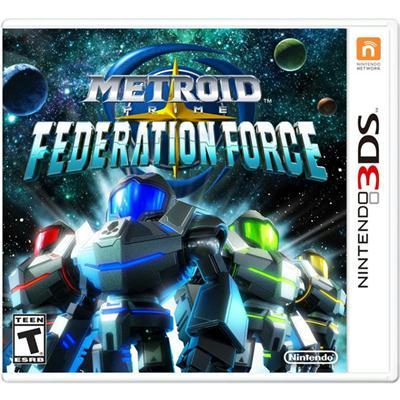 Metroid Prime Fed Force 3ds