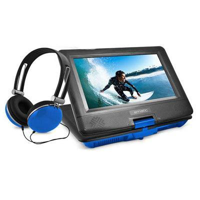 ematic epd116 portable dvd player headphones, headrest mount - 10