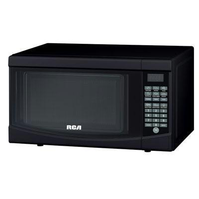 Rca 0.7 Cu Ft Microwave Black